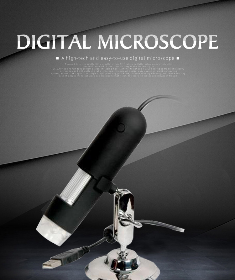 3.0MP Portable USB Digital Microscope diver digital USB PC Camera 20X, 500X USB Digital Microscope Driver With Zoom