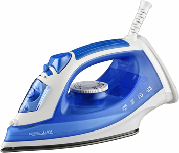 Professional Blue Electric Full Function iron steam