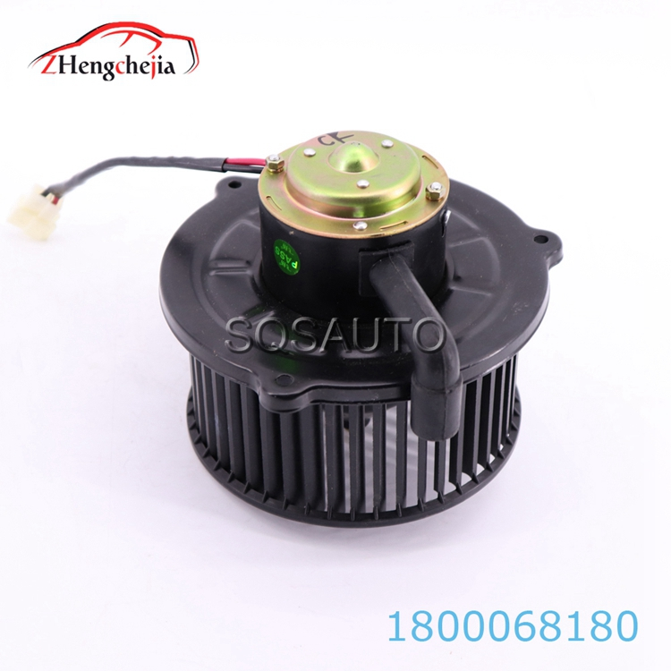 OEM 1800068180 high quality 12v air conditioning black blower fan motor for Geely