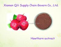High quality Pure and Natural Fruit Hawthorn Extract powder 4:1 10:1