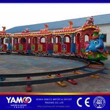 shopping mall elephant electric train kiddie amusement park train rides for sale
