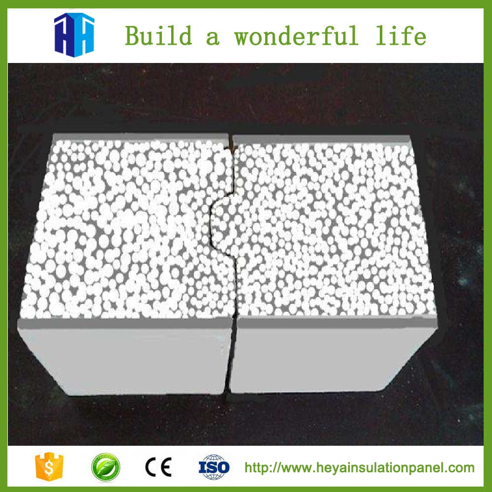 HEYA Superior Quality Exterior Cement Foamed Sandwich Laminated Wall Panels