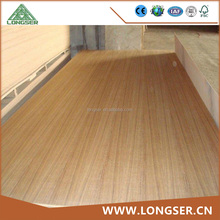 19mm Fancy Decorative Teak Veneered Plywood