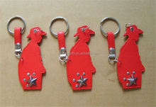 MAIN PRODUCT Different types key chains motorcycle leather from manufacturer