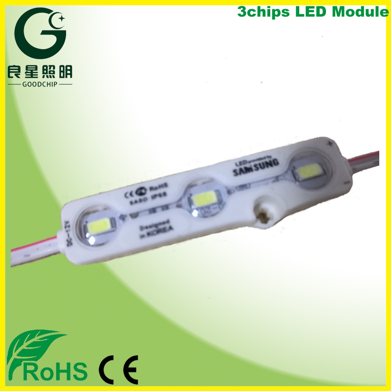 Cheap Dob Ac Rohs 5050 3 Light Injection Smd Chip Led Module