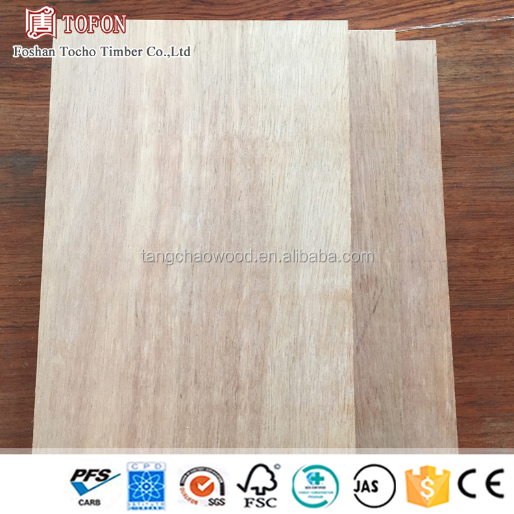 Different Thickness 1220x2440 Okoume Plywood For Exterior Doors