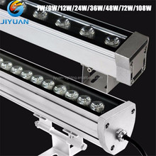 New products outdoor linear IP65 36W round rgb LED wall washer outdoor decorative lights