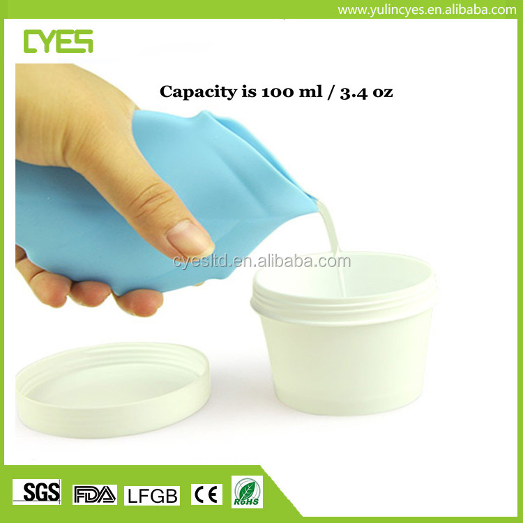 Big Promotional Factory Direct Supplier Health food grade silicone disposable travel drinking cup