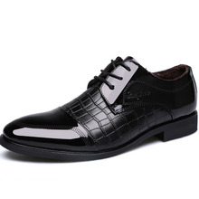 SM3011 Latest design 2016 business man leather dress shoes