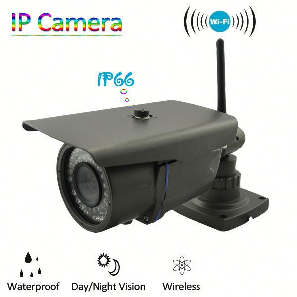 5MP(5 Megapixel) WIFI home security wireless camera with P2P, ONVIF, Low Lux, 4-9mm Varifocal Lens Wire
