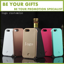 customize logo led phone case