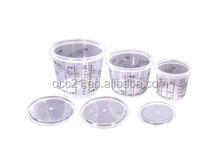 Reusable Plastic Paint Measuring Cups for Auto Painting