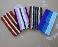 Crochet elastic material for headband