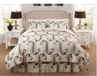 luxury soft good quality best selling heat transfer printing 4pcs home hotel Bedding comforter sets