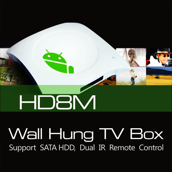 Amlogic M3 Android 4.0 TV box cortex A9 support XBMC