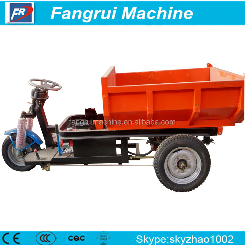 Best Selling tricycle for cargo electric dust cart for export