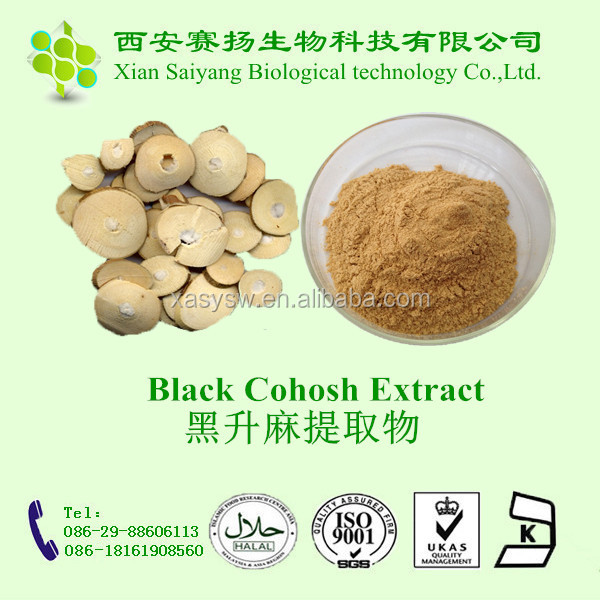 TLC Tested High Quality Pure Natural Organic Black Cohosh Extract Powder