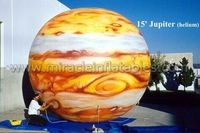 inflatable planet/inflatable moon model/helium moon can be customized C4021