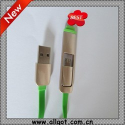 2015 New products colorful usb \ data cable metal shell USB Cable,phone and computer accessories