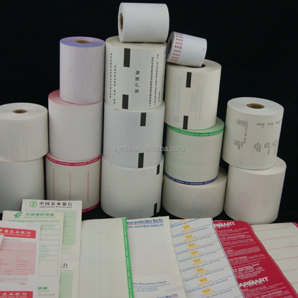 NCR ATM Paper Roll Thermal Paper Bond Paper NCR Roll Till Roll in low price