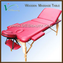 2014 best sale new design 3-section facial bed for massage