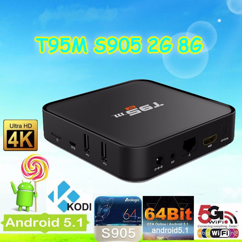 Google Play Store Free Download T95M Android Tv Box Amlogic S905 Android Fire Tv Stick
