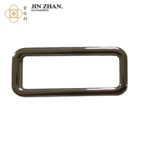 Ali China Classic zinc alloy item flat adjuster sliders buckle for bag parts & Accessories