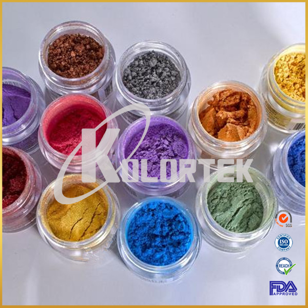 Kolortek Cosmetic Grade Color Mica Powder Pearl Pigment for Makeup