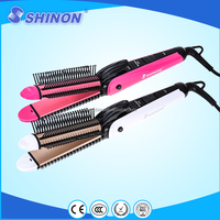 NEWEST SHINON 4 IN 1 hair curler set hair crimper hair comb straightener