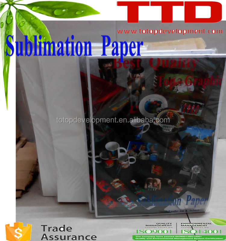 sublimation paper for printing mugs , A3 A4 thermal paper for printing mugs