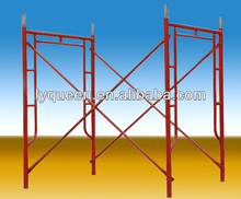 Portable Galvanized Steel Ladder H Type Scaffolding Frame