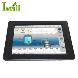 Wall hanging all in one computer barebone quad core J1900 touch screen all in one pc