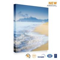Chinese wonderful natural scenery ocean waves oil painting