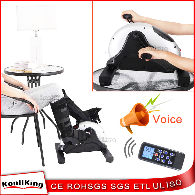 2017 Latest Design Desk Portable Electronic Mini Bike Pedal ExerciserFor Arms and Legs Workout