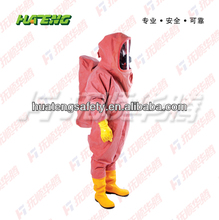 Totally Enclosed Chloroprene Rubber Chemical Protective Suit
