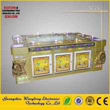 2016 casino green dragon table soccer game, ocean king 2 fish arcade shooting video game