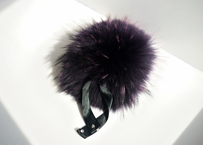 Custom Color Fox Fur Trim Cuff for Ladies Outfit Fur Accessory