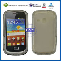 C&T Grey TPU case for samsung galaxy mini 2 s6500