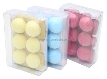 promotional gift set and hot sell bath fizzer bath bombs in PVC box