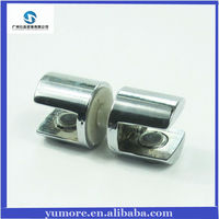 Zinc alloy china cabinet glass holding clips