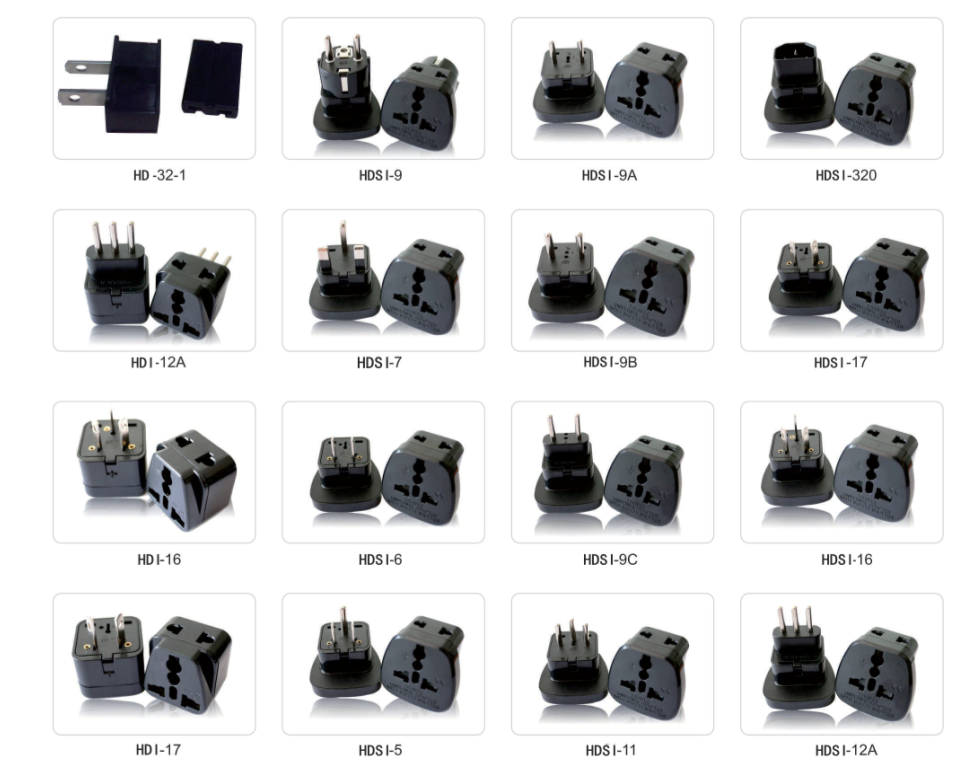 Plug Adapter Type G 2 Pin Round Pin European Plug Vde Plug