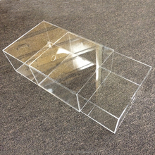 high quality factory price hupbox clear acrylic shoebox