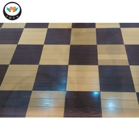 Water Proof Indoor Wood Plastic Composite WPC Decking Flooring