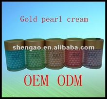 oem skin care cosmetics & skin youthful almighty plain wrinkle 24k active gold pearl cream hot!