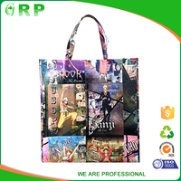 New generation stylish collapsible pp non woven new design shopping bags