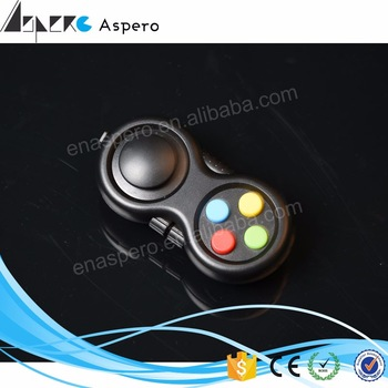 Bright in colour Fidget Pad toy spinner caps with ABS material