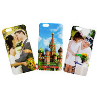 supply 3D/2D blank sublimation cell phone case cover with competitive price and high quality