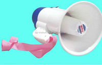 cheap portable megaphone silicon horn stand speaker