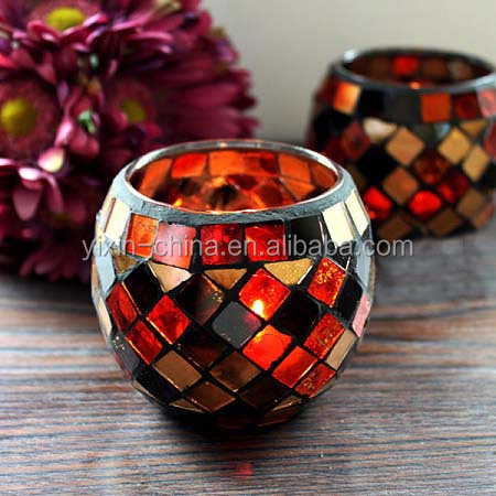 Beautiful Mosaic Tealight Candle holders