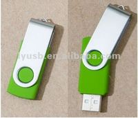 High quality high speed promotion gift usb flash drivers with green usb memory stick usb2.0 for school company wedding